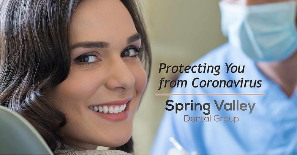 Protecting Patients fro Coronavirus at Spring Valley Dental Group, O'Fallon IL