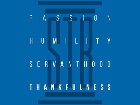 STB Pillar 5: Thankfulness