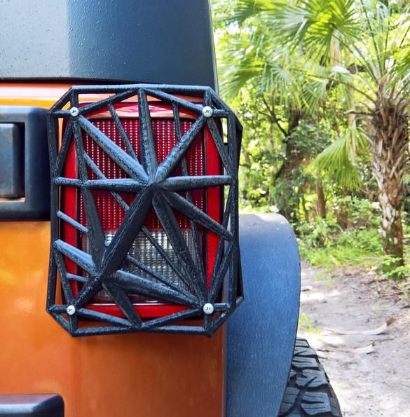3D Printed Light Guard