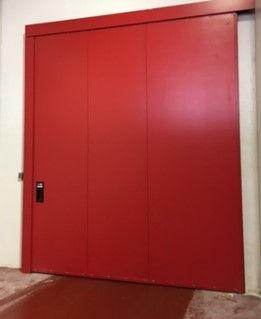 puerta corredera cortafuegos acematic
