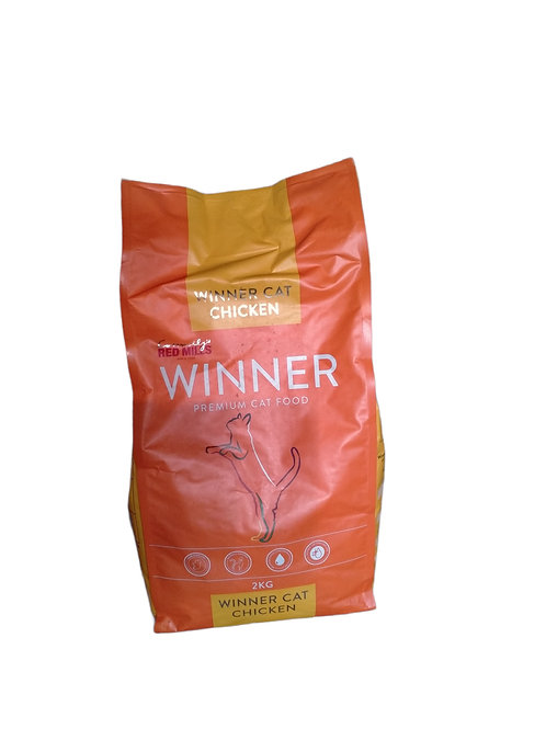 Winner chat adulte poulet