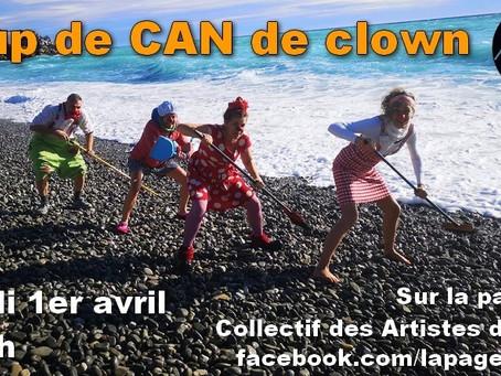 Des clowns pour les enfants de Lenval...