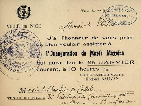 Le Musée Masséna a cent ans...