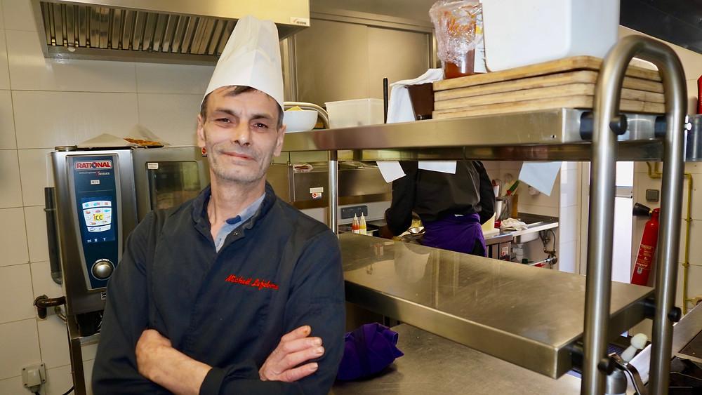 Le Chef Mickaël Lefebvre. © Fabrice Roy
