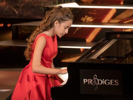 """Stella Almondo, finaliste de l'émission """"Prodiges"""""""
