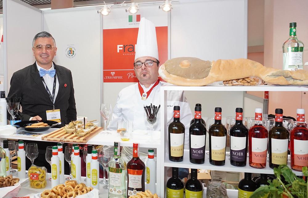 Giosuè Gilberto di Molfetta et le Chef Marco Bonea. © Fabrice Roy