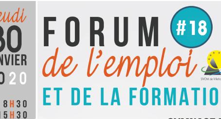 Forum de l'emploi à Beaulieu