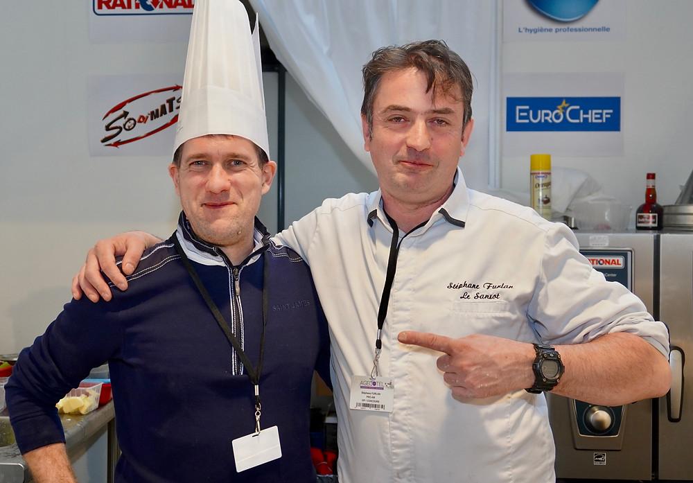 Arnaud GEA - Laboratoire Dumani / Stéphane FURLAN - Restaurant Le Sansot à Tourrettes Sur Loup - Maitre Restaurateur. © Fabrice Roy