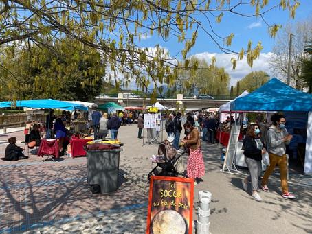 Le marché nature de Villeneuve Loubet