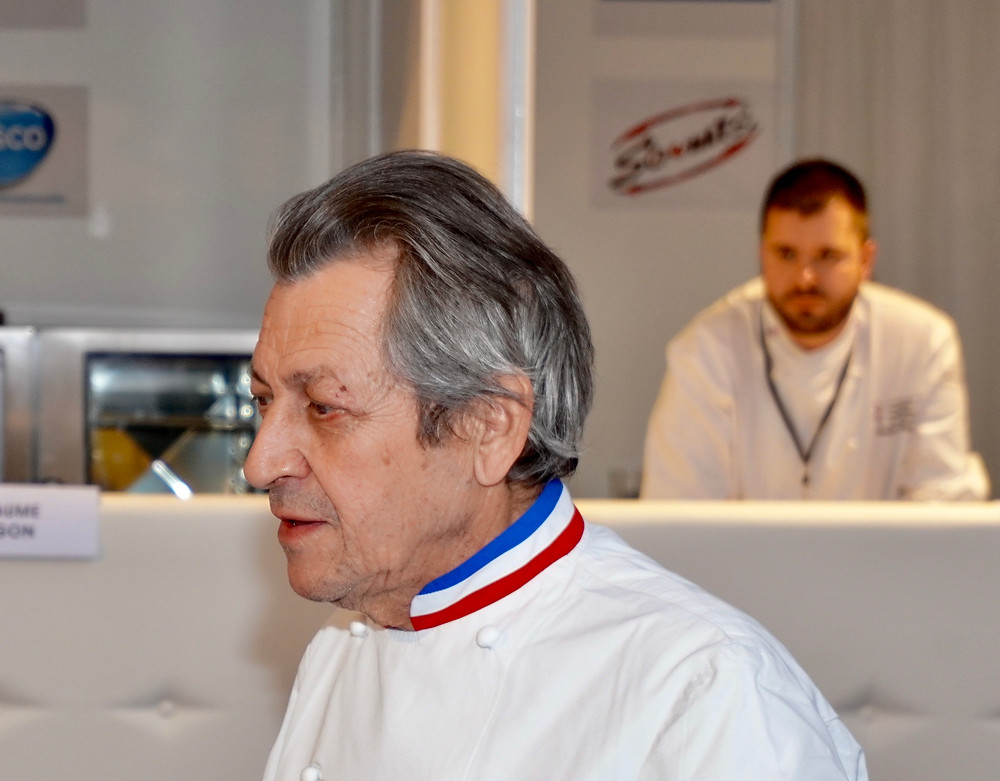 Jacques Maximin, président du jury. Toujours attentif...  Fabrice Roy
