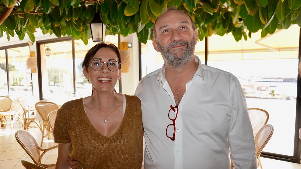 Marie et Jérôme Cervera, les patrons. © Fabrice Roy