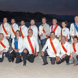 Les disciples à la plage