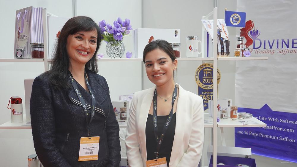 Marghana Sayed (à gauche) © Fabrice Roy