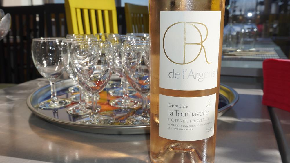 """Une présentation dégustation des vins du """"Domaine de la Tournavelle"""" a été faite par Christophe Harasse. © Fabrice Roy"""