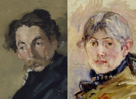 Berthe Morisot Manet et Stéphane Mallarmé