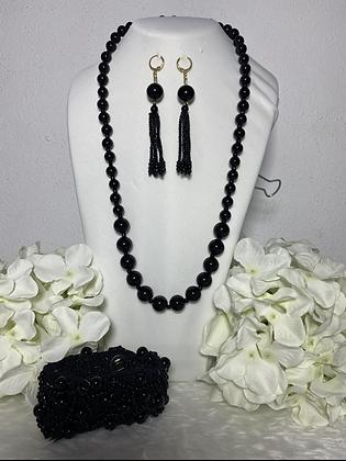 Coordinado collar,aretes y pulsera J#2