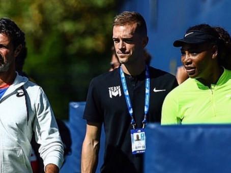 L'accompagnement kiné de Serena Williams en 5 sets par son kiné, Grégory Visery