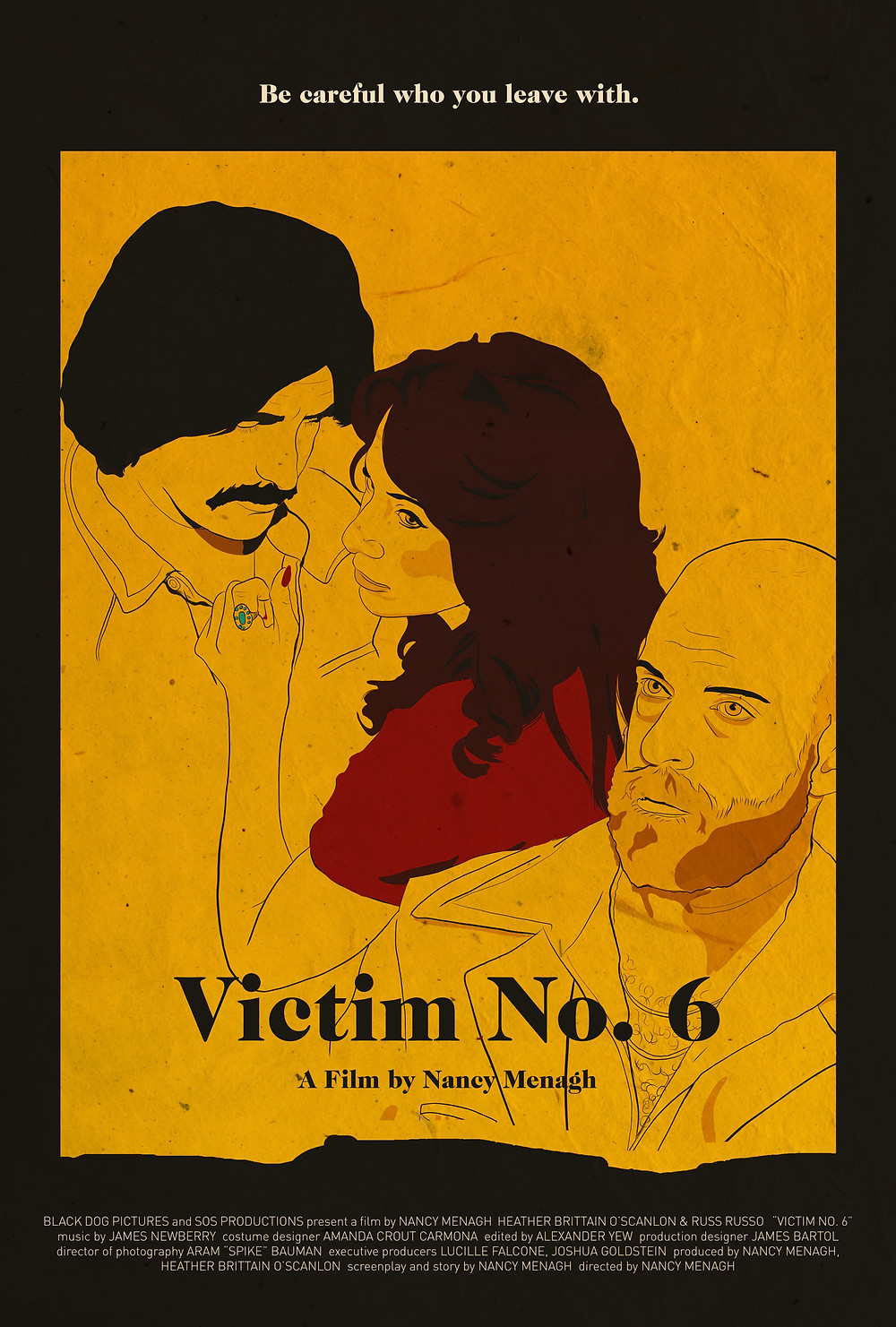 Official Poster Art for Victim No. 6