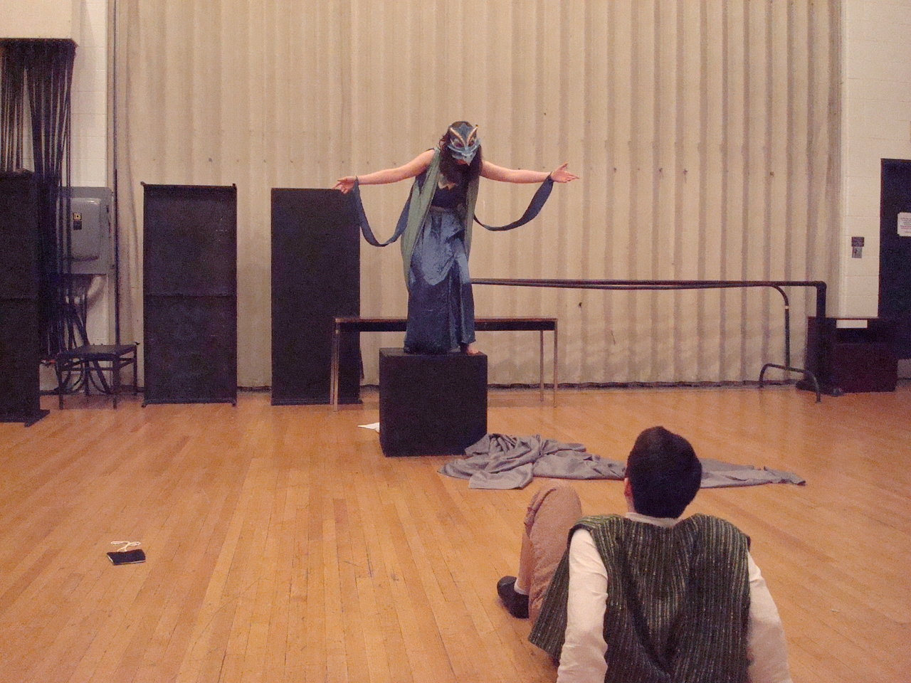 Dragon in rehearsal