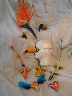 Hoopoe and Tropical Birds