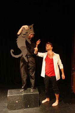 Black Cat on stage