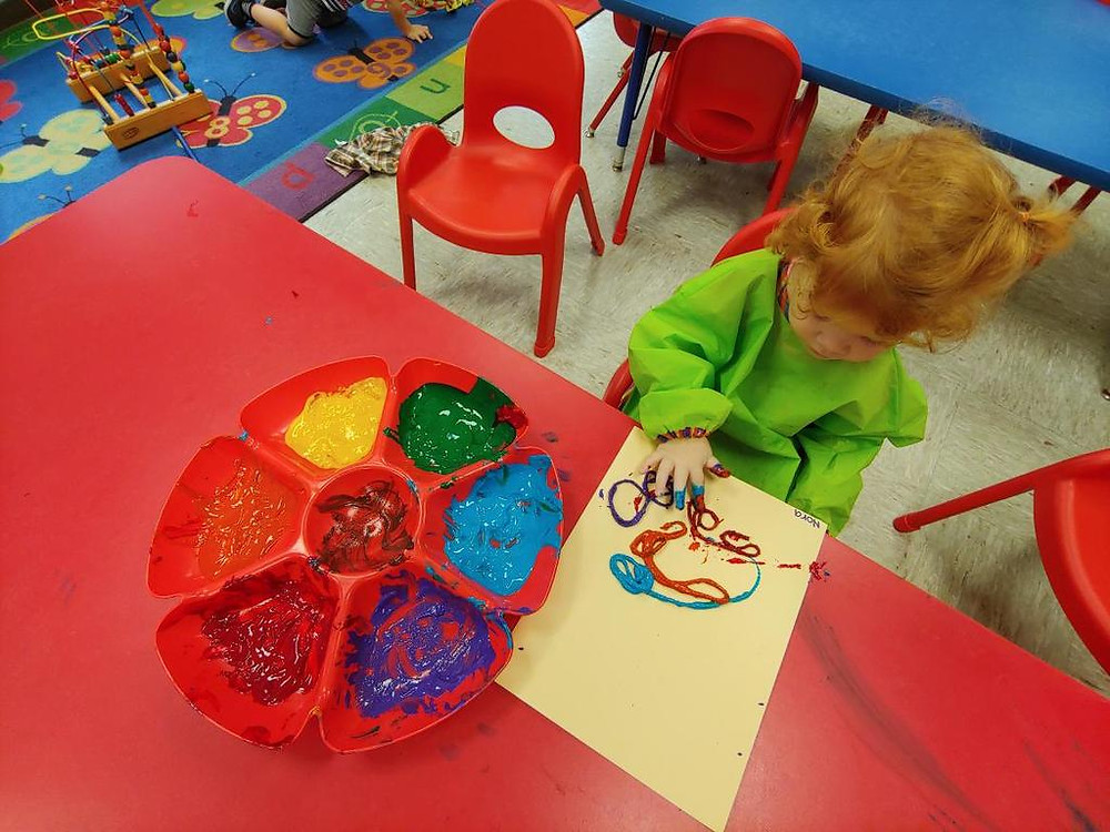 Finger Paint Play