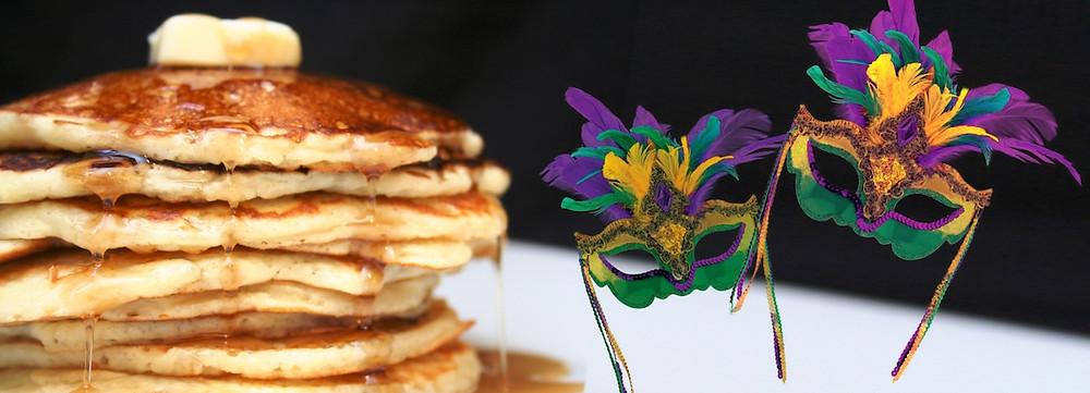 Mardi Gras Pancake Dinner Celebration
