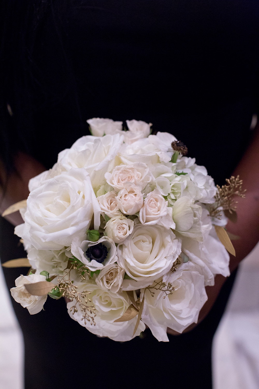 The Westin Georgetown Washington DC Wedding Floral Design Bridesmaid Bouquet