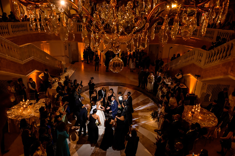 Wedding reception at The National Museum of Women in the Arts