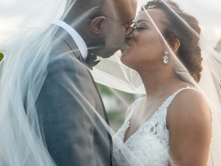 Kemah & Julius | The River View at Occoquan Wedding | Lorton, VA