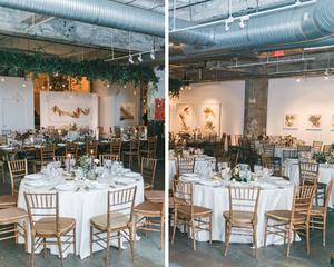 Long View Gallery Wedding Reception Washington D.C.