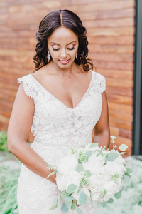 DC Wedding Florist at District Winery Wedding - Designs by Oochay with Compass Studios Photography