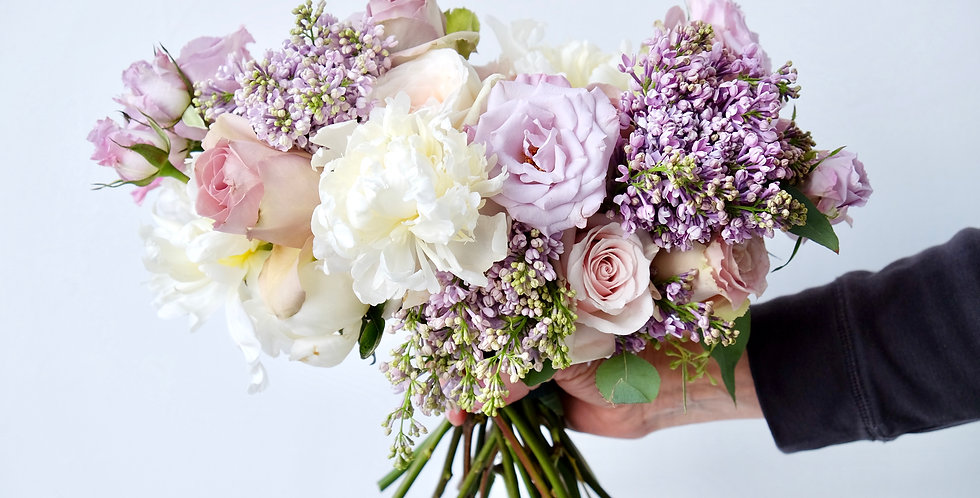 Lilac Dreams Bridal Bouquet