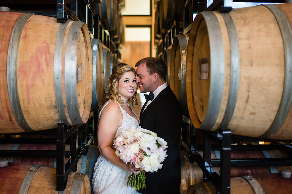 Washington DC District Winery Wedding Maryland Florist Designs by Oochay