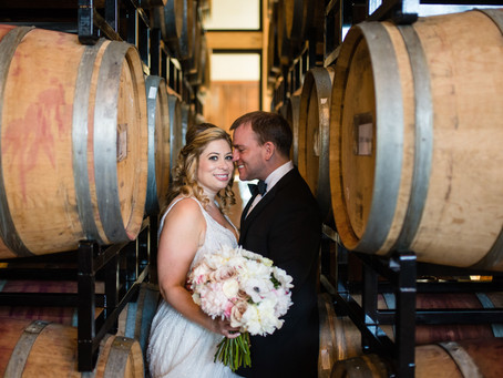 Jennifer & David | District Winery Wedding | Wedding Florist in Washington DC