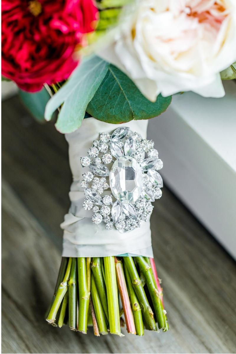 bridal bouquet jewelry