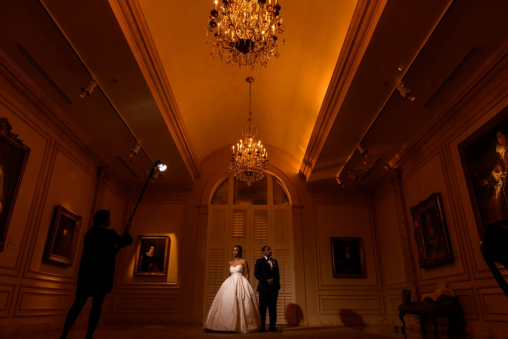 Wedding at The National Museum of Women in the Arts