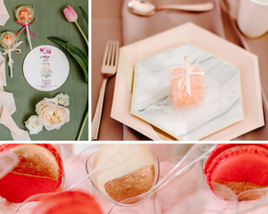 Candy, tulips, pastels and sweets at girl's first birthday