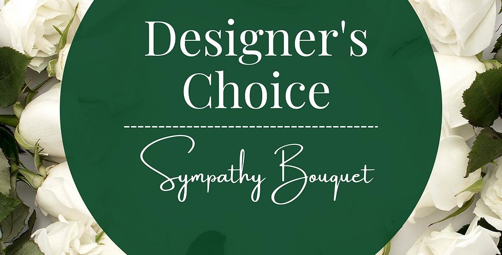Designer's Choice Sympathy Bouquet