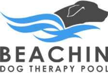 Beachin Dog Therapy Pool Logo