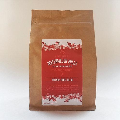 Premium House Blend - Whole Bean Coffee