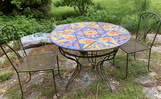 Islamic Inspired Table - Side View