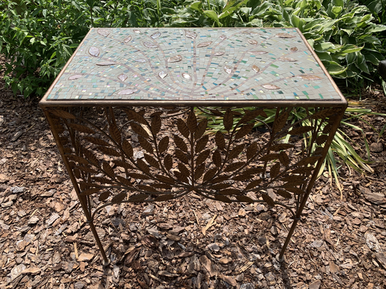 Tree of Leaves Table - Side View