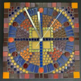 Mosaic Clock