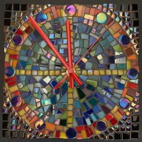 Mosaic Clcok