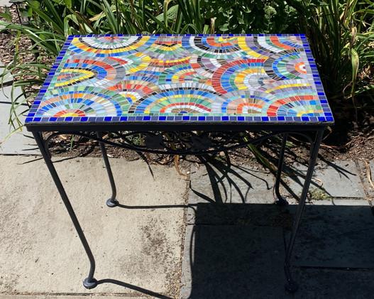 Swirls & Swirls Table - Top View