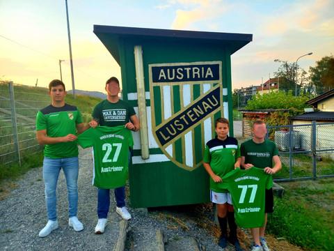 Nordtribüne Lustenau investiert in die Zukunft der Austria