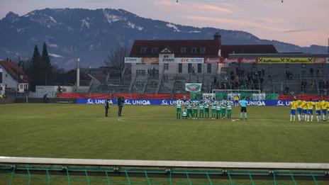 ÖFB Cup 1/4 Finale: Austria Lustenau -WSG Wattens