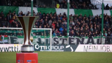 ÖFB Cup 1/2 Finale: Austria Lustenau -   FC Wacker Innsbruck
