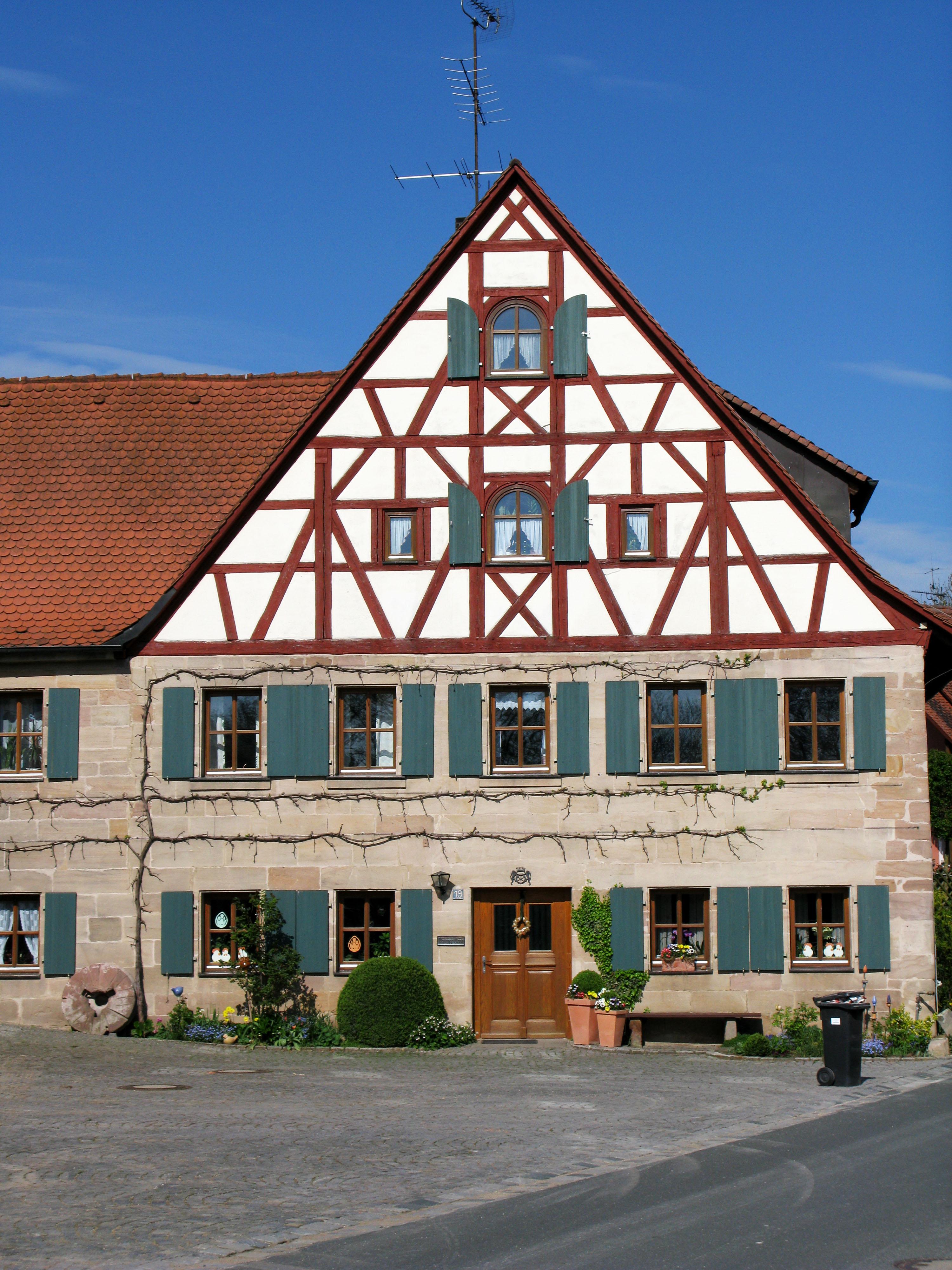 Fachwerkhaus Rossendorf